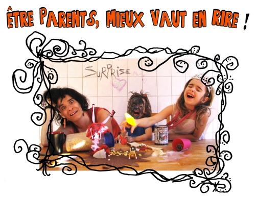 Etre parents mieux vaut en rire !